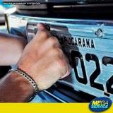 licenciamento de veículos placas