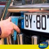 licenciamento de veículos placas Vila Albertina